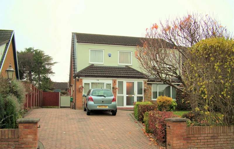 4 Bedrooms Detached House for sale in Castle Park, Connahs Quay