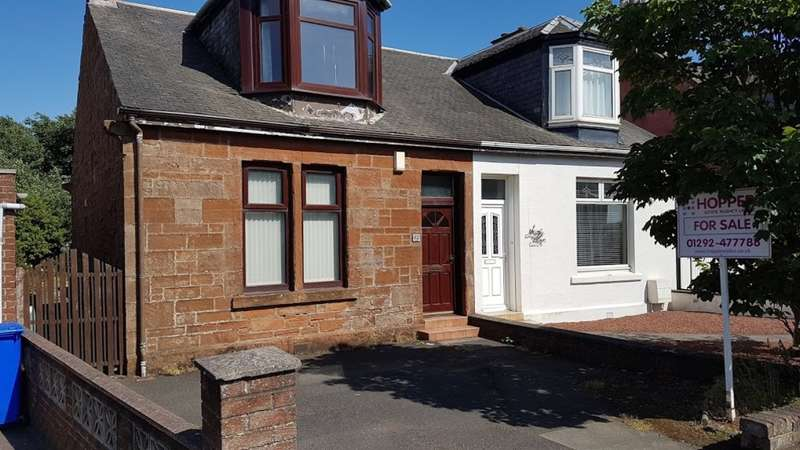 3 Bedrooms Semi Detached House for sale in Marina Road, Prestwick, KA9