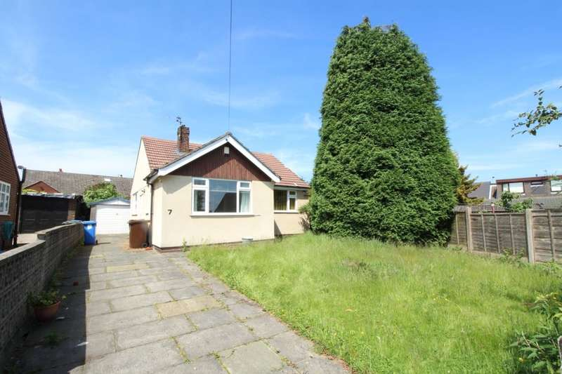 2 Bedrooms Detached Bungalow for sale in Everest Close, HYDE, SK14