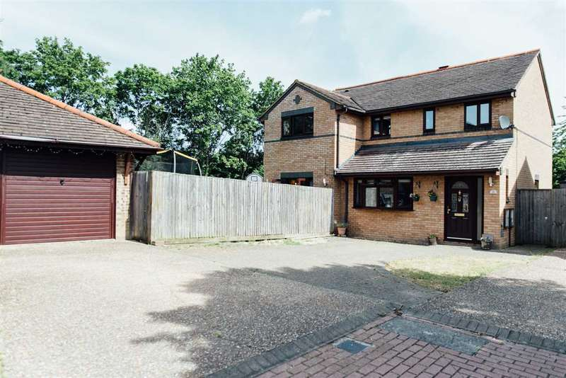 5 Bedrooms Detached House for sale in Greenhill Close, Loughton, Milton Keynes