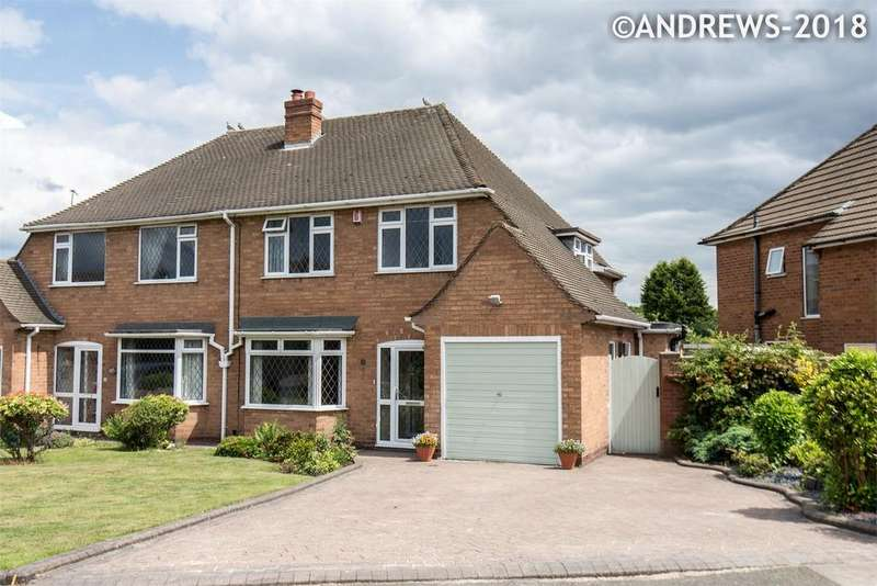 3 Bedrooms Semi Detached House for sale in Holly Wood, Great Barr, BIRMINGHAM