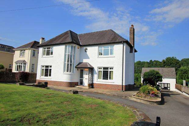 4 Bedrooms Detached House for sale in Bronwydd Road, Carmarthen, Carmarthenshire