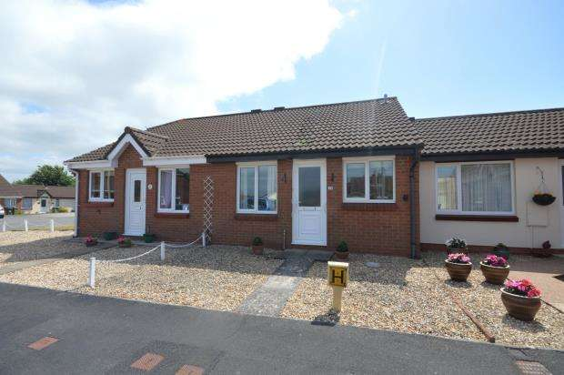 1 Bedroom Terraced Bungalow for sale in Deacon Close, Exeter, Devon