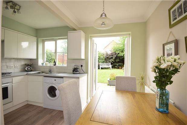 2 Bedrooms Semi Detached House for sale in Westons Brake, Emersons Green, BRISTOL, BS16 7BQ