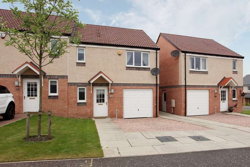 3 Bedrooms Semi-detached Villa House for sale in Regulus Street, Dunfermline, Fife, KY11 8XD