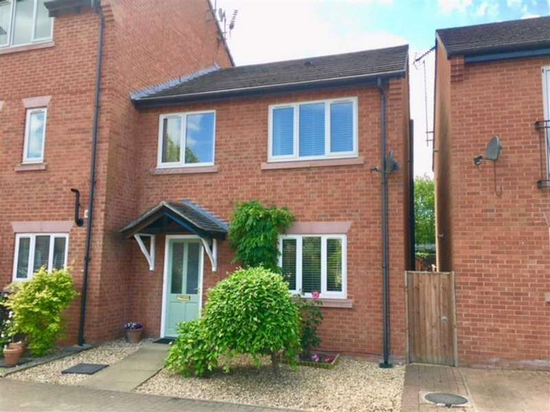 3 Bedrooms Semi Detached House for sale in Chesterton Court, Chester, Cheshire