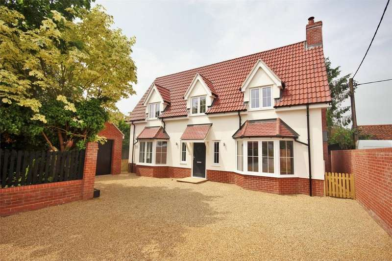 4 Bedrooms Detached House for sale in London Road, Capel St Mary, Ipswich, Suffolk