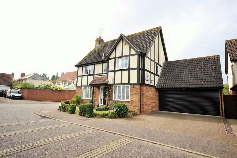 4 Bedrooms Detached House for sale in Hedgelands, Copford, Colchester, Essex