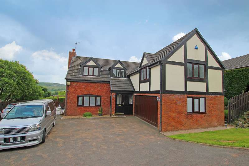 4 Bedrooms Detached House for sale in Alpine Close Hoddlesden BB3 3LH