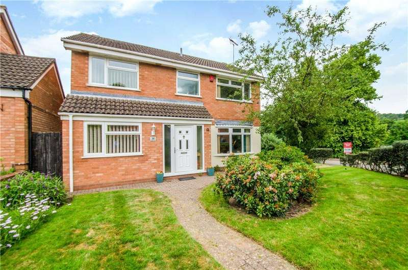 4 Bedrooms Detached House for sale in Arundel Drive, Worcester, Worcestershire, WR5