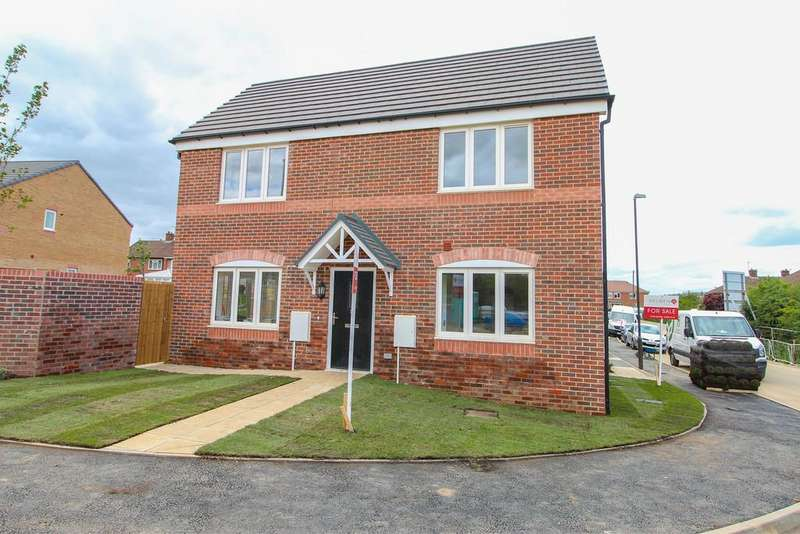 3 Bedrooms Semi Detached House for sale in 12 Carlyle Road (Plot 4), Stonebroom