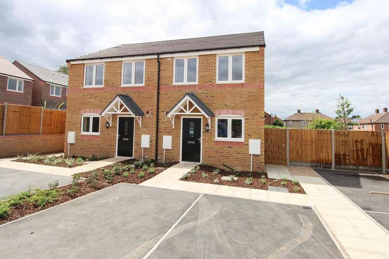 2 Bedrooms Semi Detached House for sale in 14 Carlyle Road (Plot 5), Stonebroom