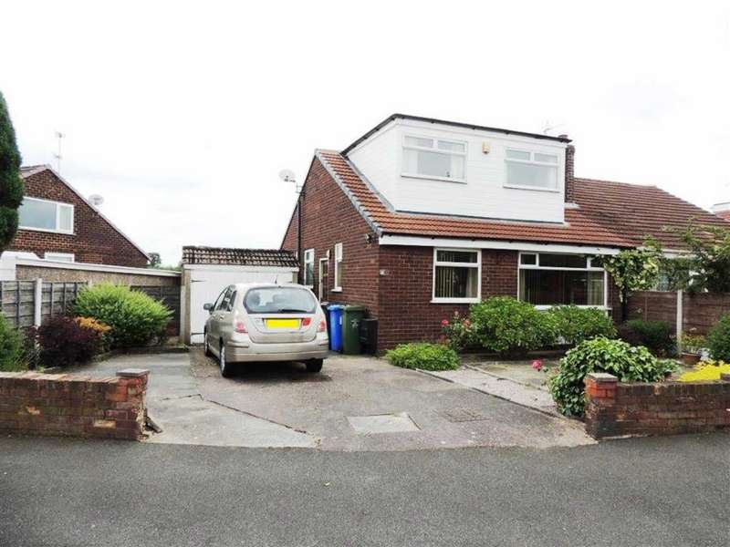 3 Bedrooms Semi Detached Bungalow for sale in Windermere Avenue, Denton, Manchester