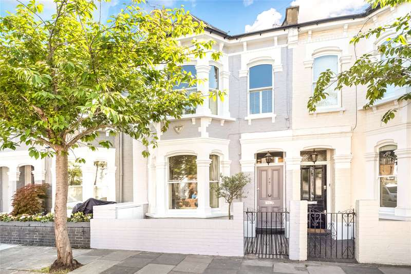 3 Bedrooms Terraced House for sale in Alderville Road, Parsons Green, London, SW6