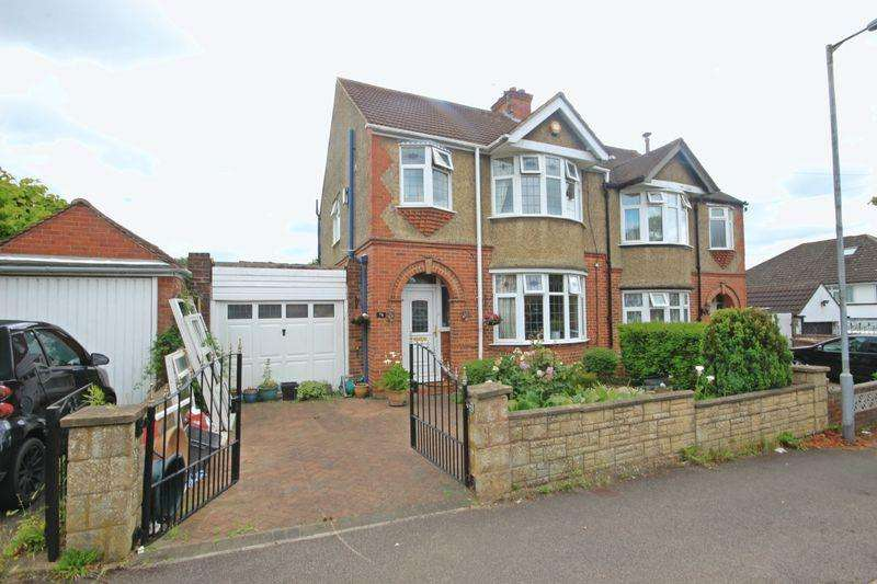 3 Bedrooms Semi Detached House for sale in Cranleigh Gardens, Luton