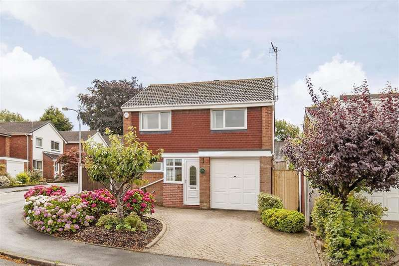 4 Bedrooms Detached House for sale in Hillside Drive, Walton, Chesterfield