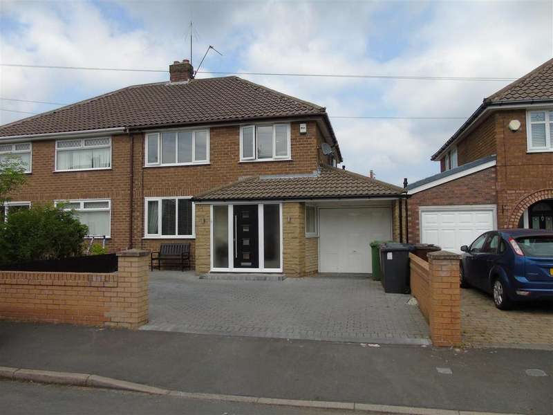 3 Bedrooms Semi Detached House for sale in Charterhouse Drive, Liverpool