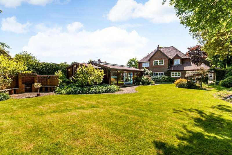 5 Bedrooms Detached House for sale in Wonston, Winchester, SO21