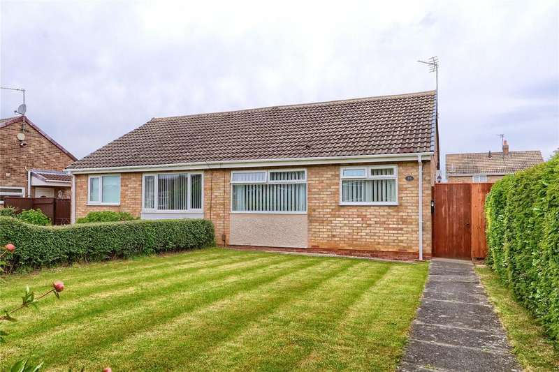 2 Bedrooms Semi Detached Bungalow for sale in Larch Close, Marton