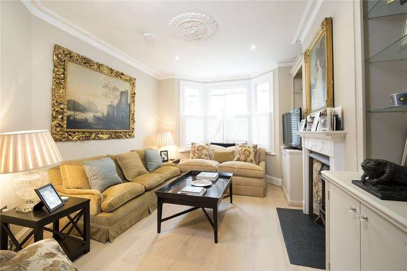 4 Bedrooms Terraced House for sale in Beltran Road, Fulham, London