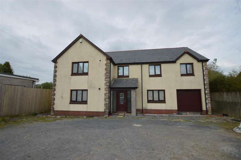 6 Bedrooms Detached House for sale in Black Lion Road, Gorslas, Llanelli