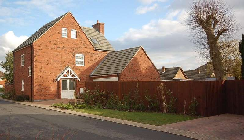 5 Bedrooms Detached House for sale in Badgers Croft, Thringstone, LE67
