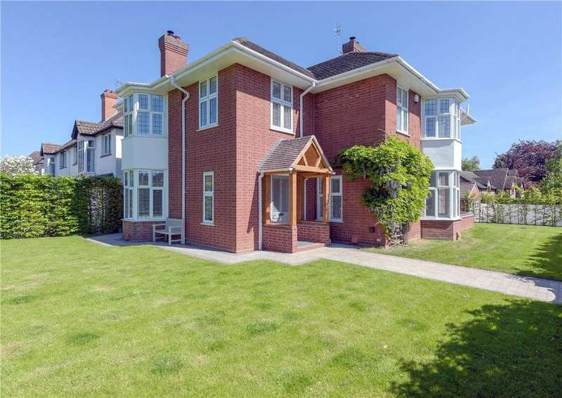 5 Bedrooms Detached House for sale in Hanbury Park Road, Worcester, Worcestershire, WR2