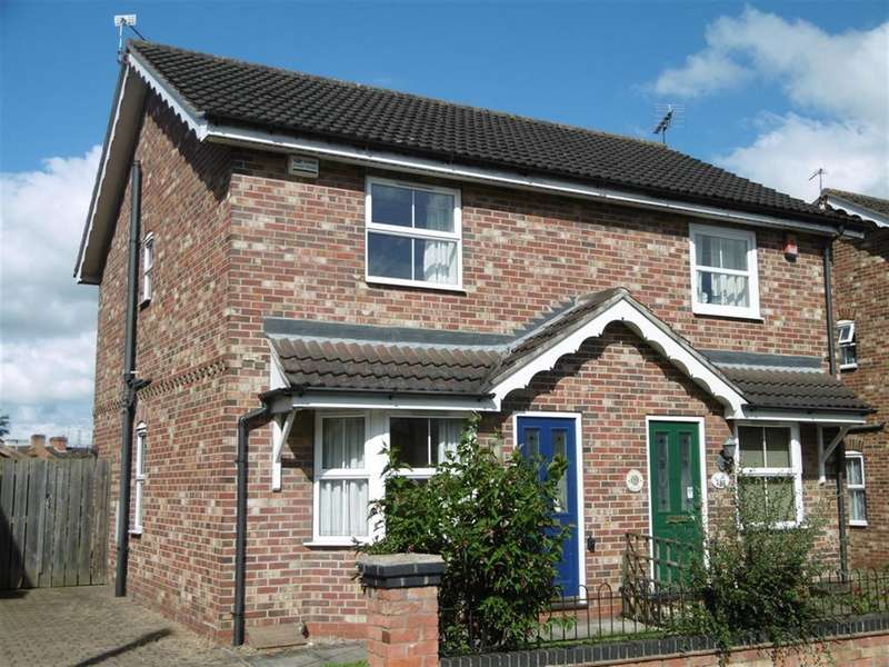 2 Bedrooms Semi Detached House for sale in Sandsfield Lane, Gainsborough, DN21 1DD