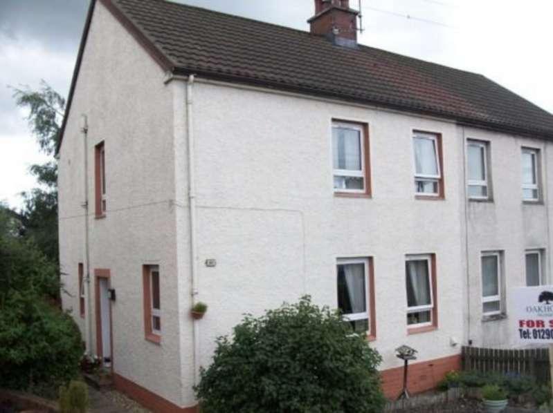 3 Bedrooms Semi Detached House for sale in John Allan Drive, Cumnock KA18