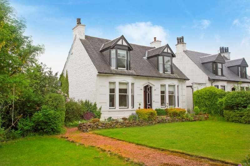 4 Bedrooms Link Detached House for sale in 36 Kilbarchan Road, Bridge of Weir, PA11 3ET