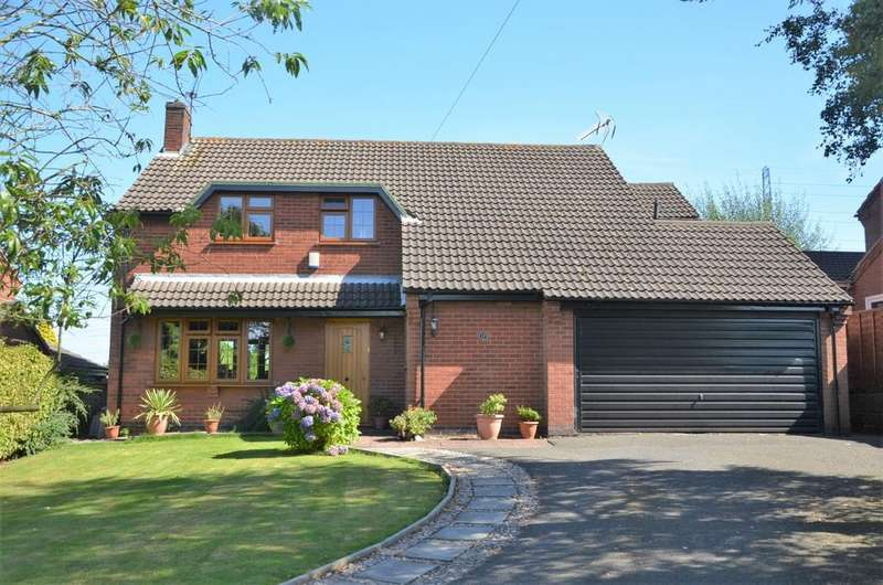 4 Bedrooms Detached House for sale in Beaumont Green, Coleorton, LE67