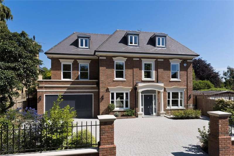 7 Bedrooms Detached House for sale in Wolsey Road, East Molesey, Surrey, KT8