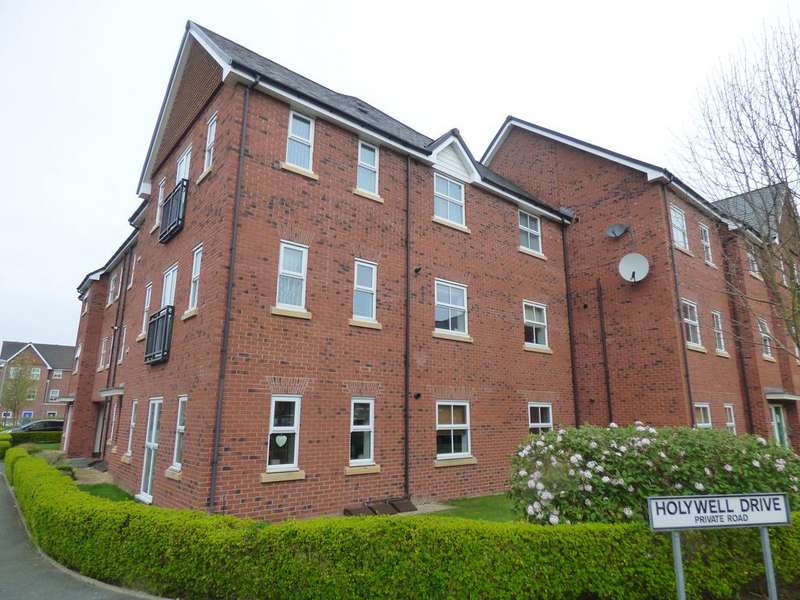 2 Bedrooms Apartment Flat for sale in Holywell Drive, Warrington WA1