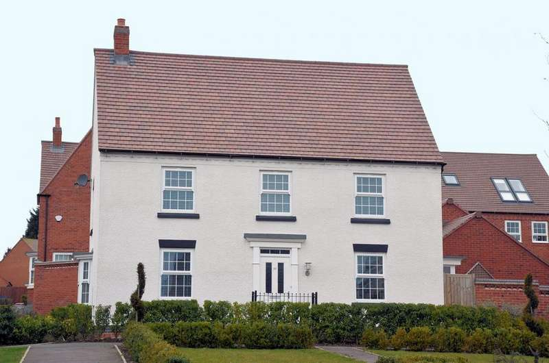 4 Bedrooms Detached House for sale in Clarence Place, Ashby De La Zouch, LE65