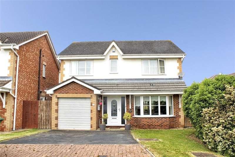 4 Bedrooms Detached House for sale in Preseli Grove, Ingleby Barwick