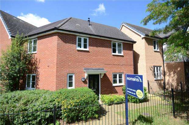 3 Bedrooms End Of Terrace House for sale in Jubilee Walk, Calcot, Reading