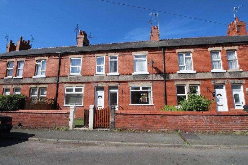 2 Bedrooms Terraced House for sale in Mawddwy Avenue , Wrexham