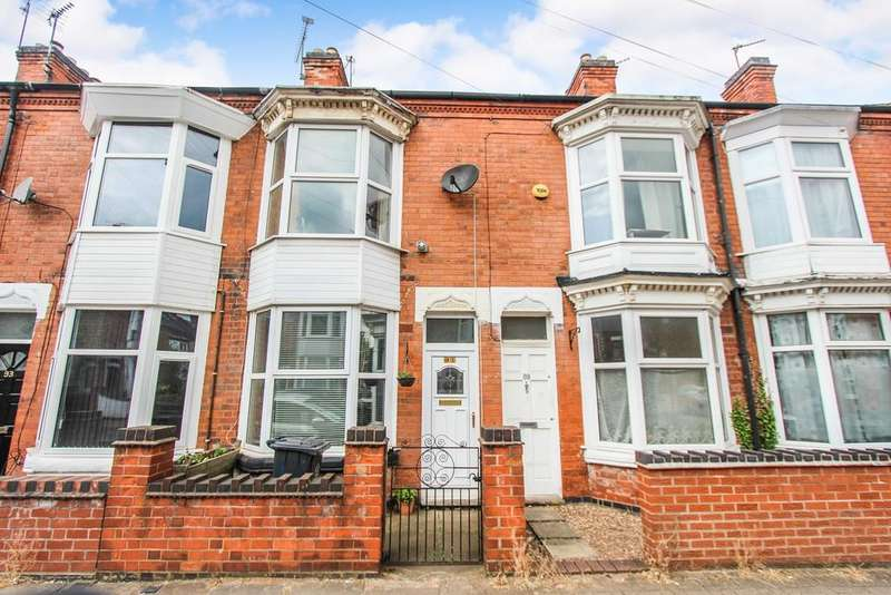 2 Bedrooms Terraced House for sale in Wilberforce Road, Leicester, LE3