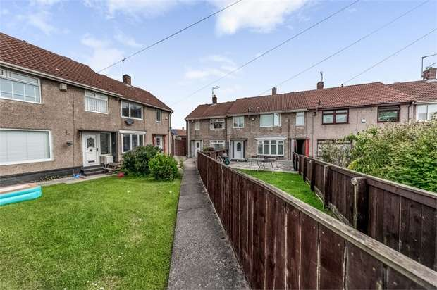 2 Bedrooms End Of Terrace House for sale in Derwent Close, Seaham, Durham