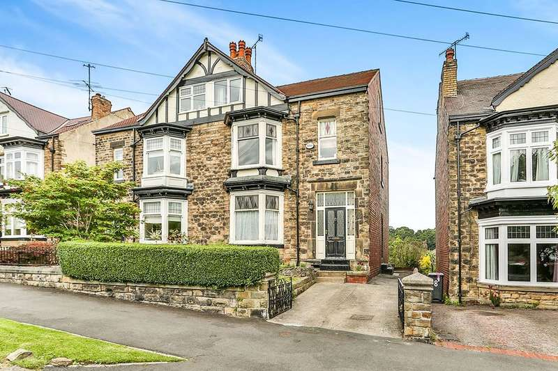 5 Bedrooms Semi Detached House for sale in Montrose Road, Sheffield, S7