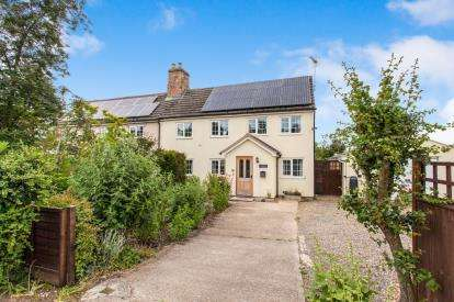 3 Bedrooms Semi Detached House for sale in Knapwell, Cambridge, Cambridgeshire
