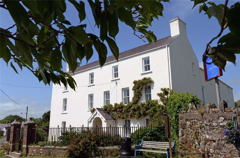6 Bedrooms Detached House for sale in Jeffreston House, Jeffreyston, Kilgetty, Pembrokeshire