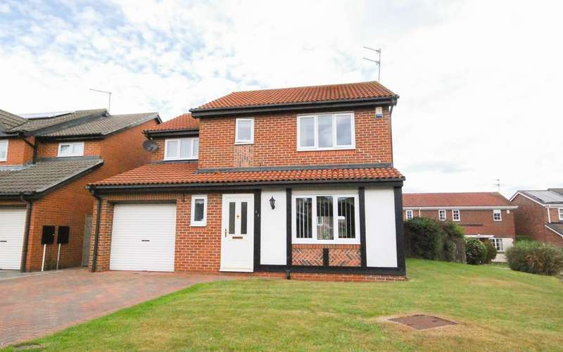 4 Bedrooms Detached House for sale in Langdale Way, East Boldon