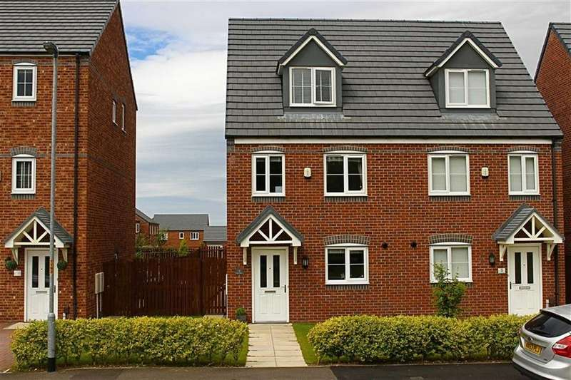 3 Bedrooms Semi Detached House for sale in Oval View, Middlesbrough