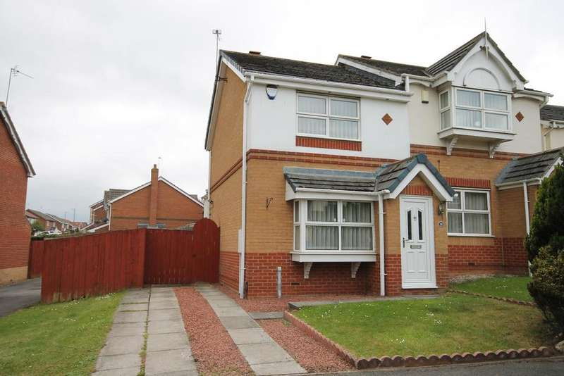 2 Bedrooms Semi Detached House for sale in Templeton Close, Hartlepool