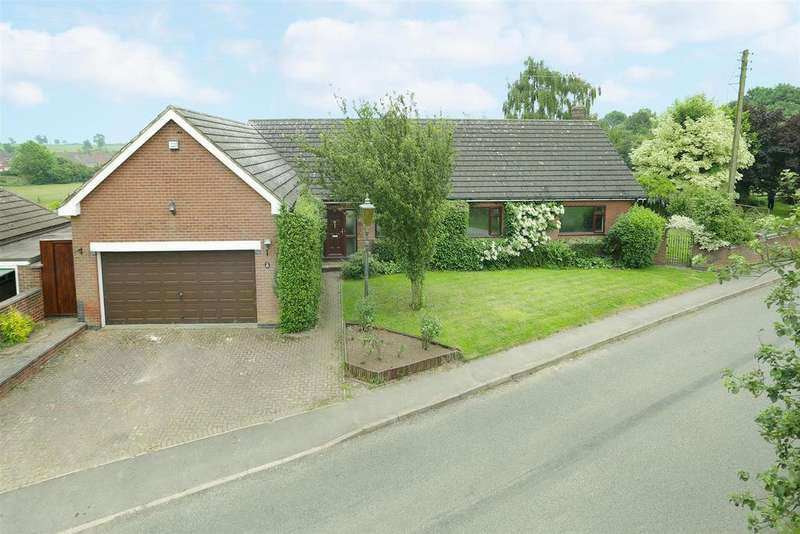 3 Bedrooms Detached Bungalow for sale in Gaulby Road, Billesdon, Leicester