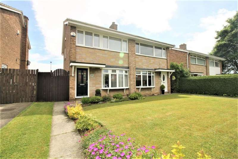 3 Bedrooms Semi Detached House for sale in Mitchell Avenue, Thornaby, Stockton-On-Tees