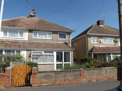 3 Bedrooms Semi Detached House for sale in Windermere Road, Patchway, Bristol, Gloucestershire