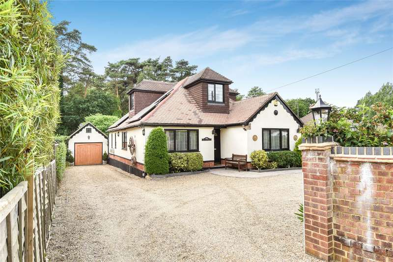 4 Bedrooms Detached Bungalow for sale in Soldiers Rise, Finchampstead, Berkshire, RG40