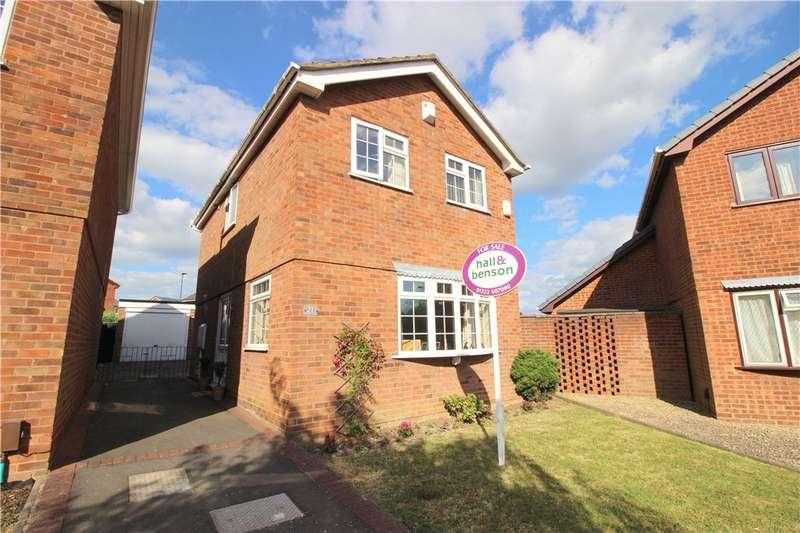 3 Bedrooms Detached House for sale in Glendale Drive, Spondon, Derby, Derbyshire, DE21